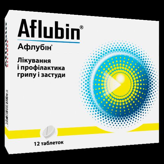 Афлубін таблетки