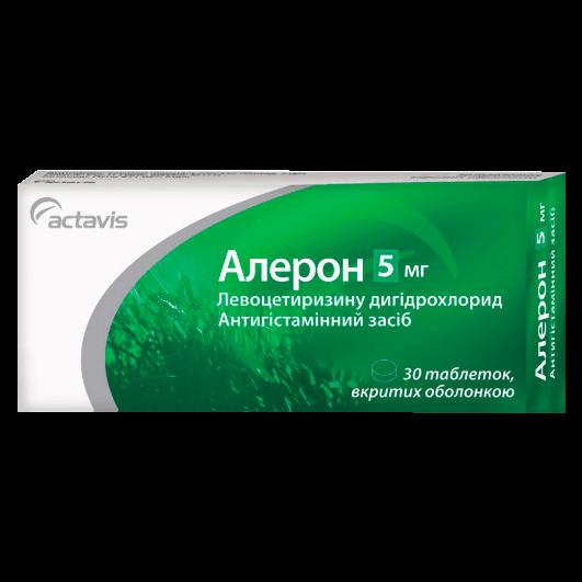 Алерон таблетки