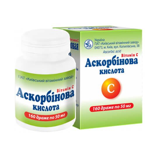 Аскорбінова кислота фото препарата