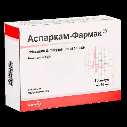 Аспаркам-Фармак Фармак