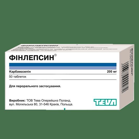 Фінлепсин фото препарата