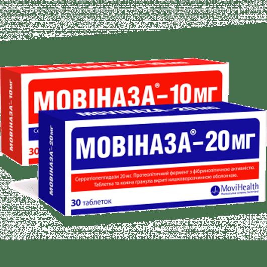 Мовіназа таблетки