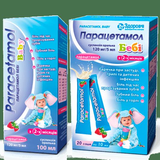 Парацетамол Бебі
